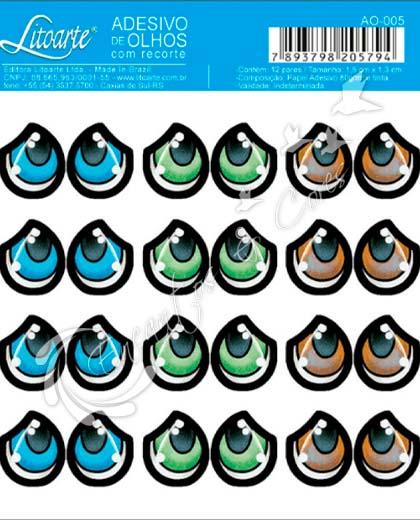 ADESIVO OLHOS LITOARTE AO-005
