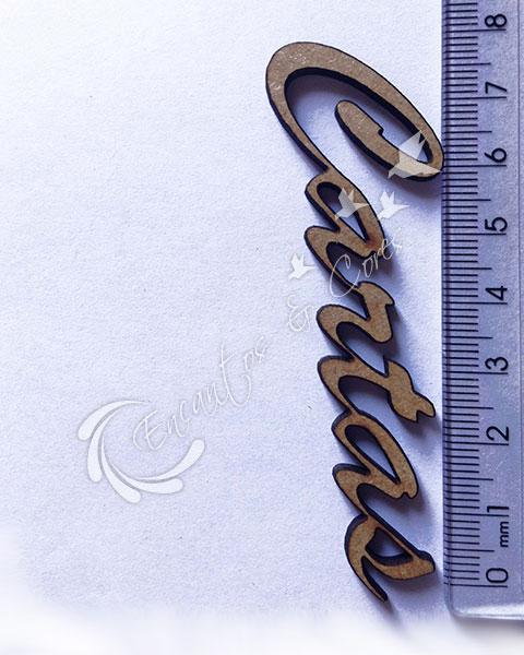 APLIQUE MDF JOIA CARTAS APL399 3mm