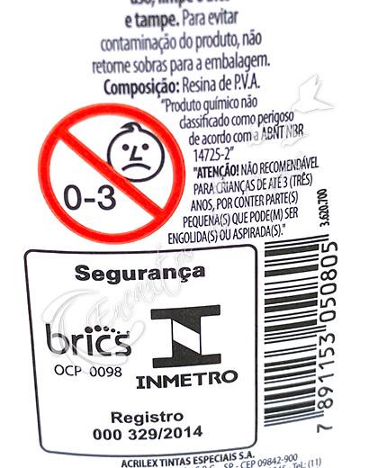 COLA BRANCA ACRILEX 250G