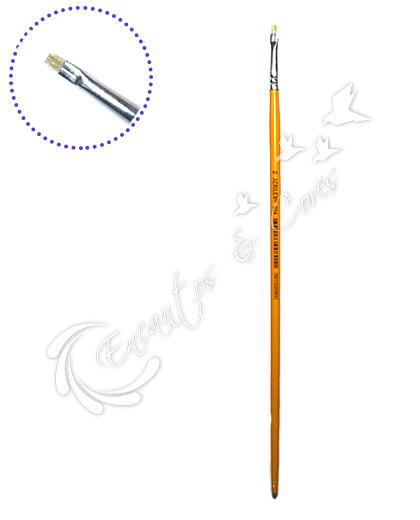 PINCEL ACRILEX 054-0 CHATO