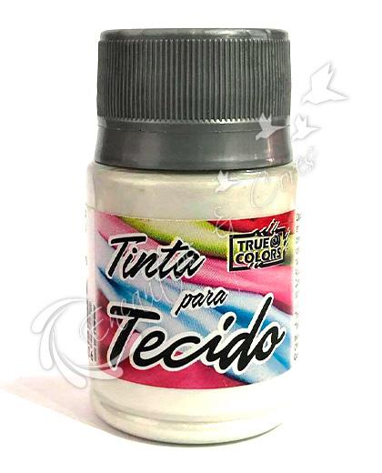 TINTA TRUE CTECIDO BRANCO METAL 37 ML
