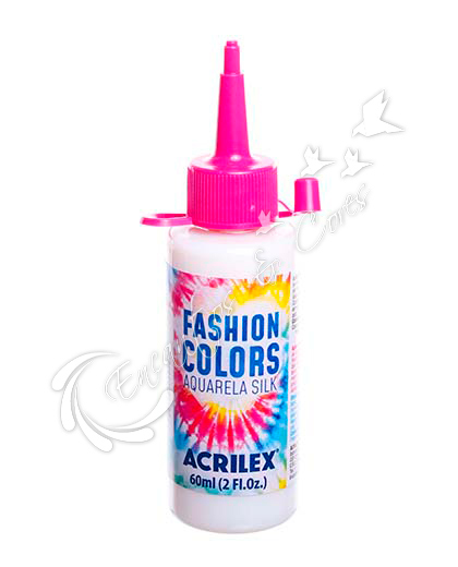 AQUARELA SILK ACRILEX 60 ML INCOLOR