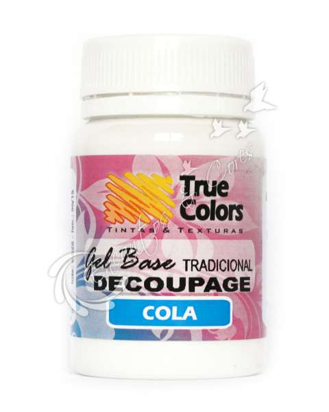 GEL BASE TRADICIONAL TRUE COLORS DECOUPAGE 80ML