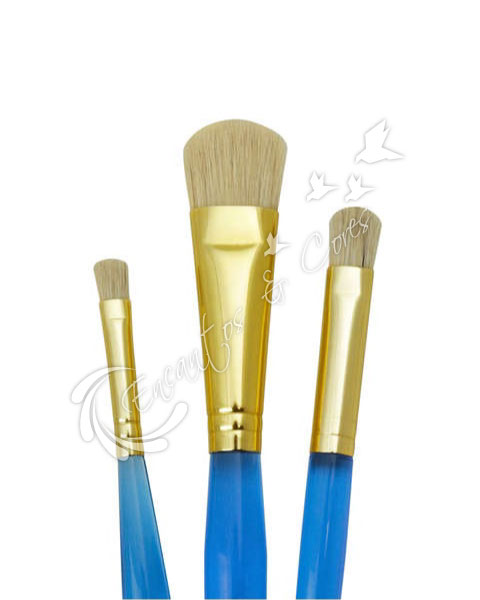 KIT ROYAL CLSTEN-8 STENCIL C/ 3 PINCEIS IMPORTADOS