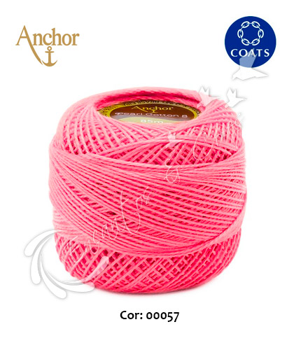 LINHA ANCHOR PERLE 85M COR-00057