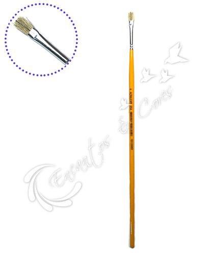 PINCEL ACRILEX 054-04 CHATO