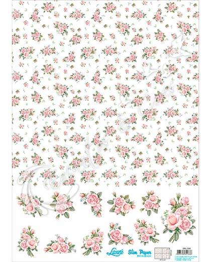 SLIM PAPER SPL-056 ESTAMPARIA ROSAS