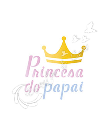 STENCIL LITOARTE STX-226 PRINCESA DO PAPAI
