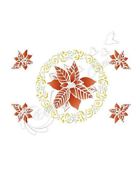 STENCIL LT STNGG-004 FLORES NATAL