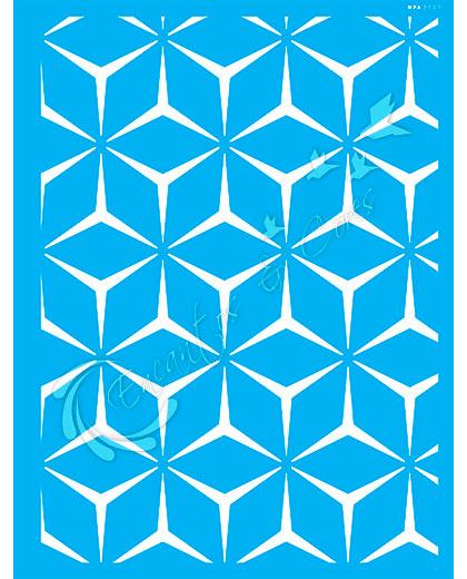 STENCIL 32X42 OPA 3107 ESTAMPARIA GEOMÉTICA I