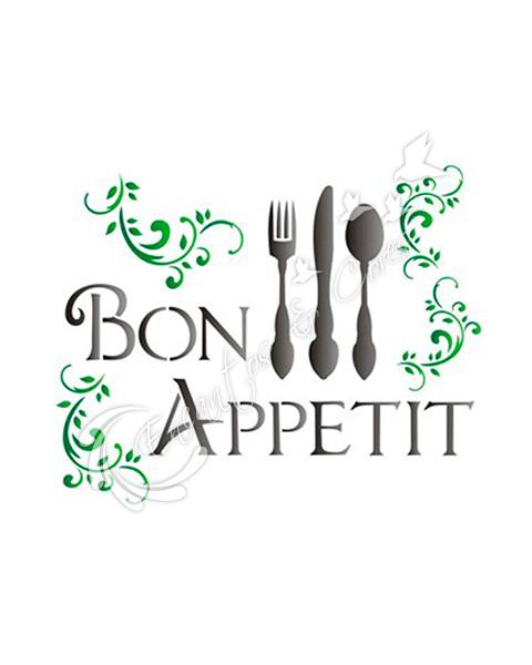 STENCIL OPA BON APPETIT (OPA 1153)
