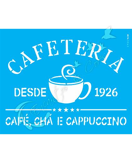 STENCIL OPA CAFETRIA ( OPA 3045 )