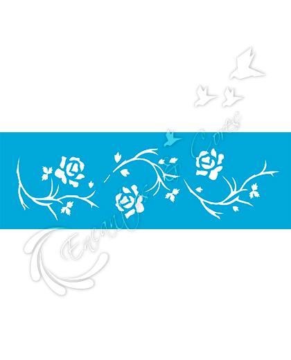 STENCIL OPA ROSAS (OPA 339)
