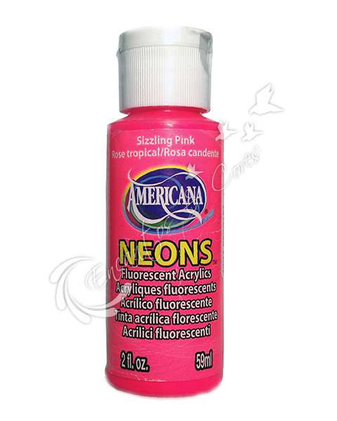 TINTA DECOART AMERICANA NEONS SIZZLING PINK DHS3 59ML
