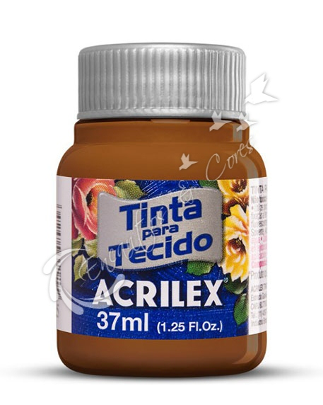 TINTA TECIDO FOSCA CHOCOLATE 37 ML