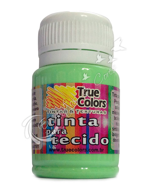 TINTA TECIDO TRUE COLORS CLOROFILA 37 ML REF 31079