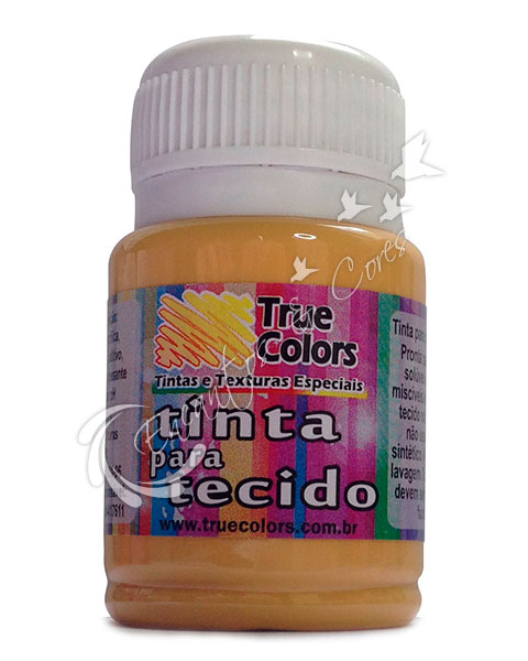 TINTA TECIDO TRUE COLORS OCRE OURO 37 ML REF 31027