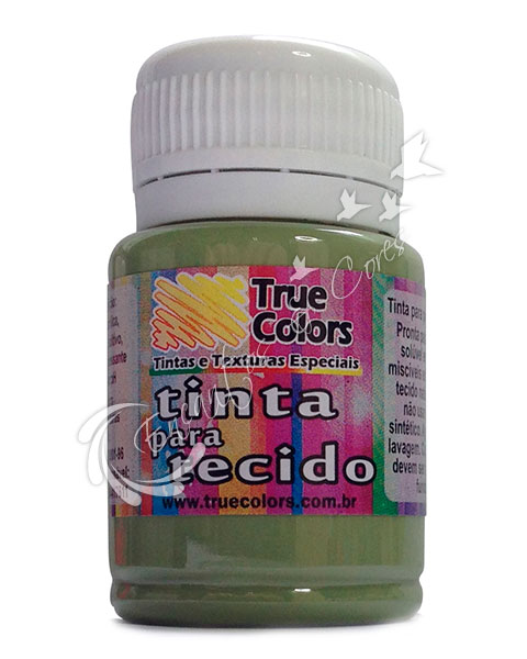 TINTA TECIDO TRUE COLORS OCRE VERDE 37 ML REF 31070