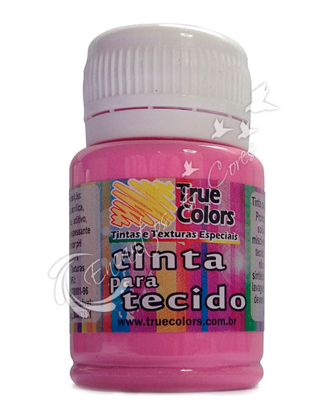 TINTA TECIDO TRUE COLORS ROSA ANTIGO 37 ML REF 31047