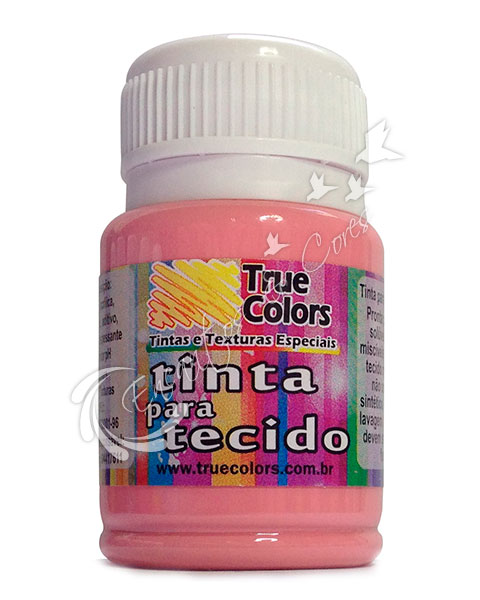TINTAS / TINTA TECIDO TRUE COLORS ROSA COUNTRY 37 ML REF 31048