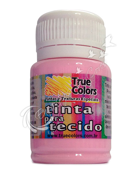 TINTA TECIDO TRUE COLORS ROUGE 37 ML REF 31059