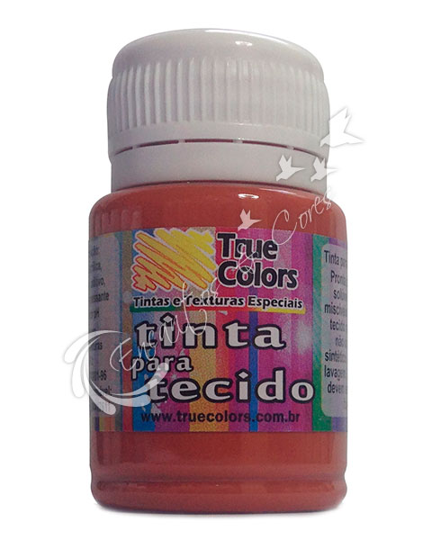 TINTAS / TINTA TECIDO TRUE COLORS TELHA 37 ML REF 31037