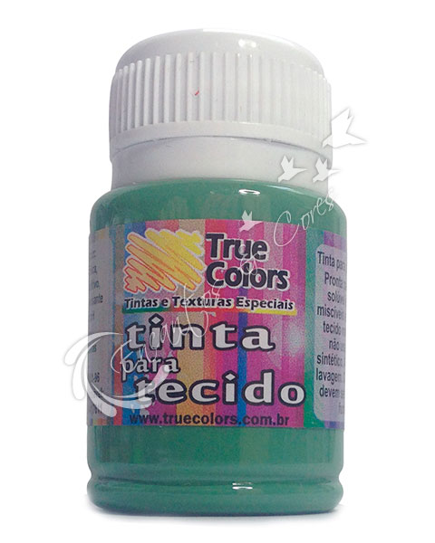 TINTAS / TINTA TECIDO TRUE COLORS VERDE GRAMA 37 ML REF 31018