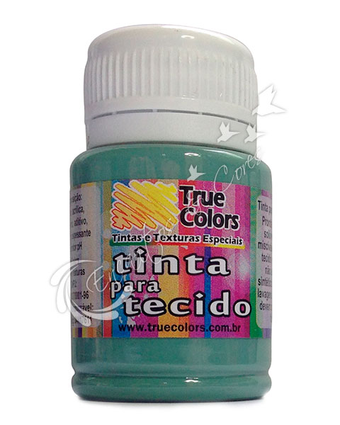 TINTA TECIDO TRUE COLORS VERDE MINERAL 37 ML REF 31025