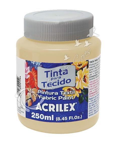 TINTA TECIDO FOSCA SALMÃO BEBÊ 250ML ACRILEX